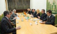 Susitikimas su Ispanijos užsienio reikalų ir bendradarbiavimo ministru Alfonso Maria Dastį