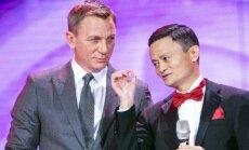 Alibaba valdybos pirmininkas Jackas Ma Yunas, Danielis Craigas
