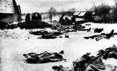 Kovos laukus ir gyvenvietes nuklodavo raudonarmiečių kūnai. Prie Leningrado