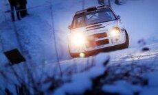 Halls Winter Rally (G. Matulaičio nuotr.)