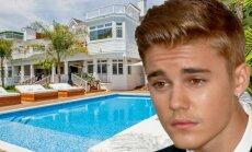 Justino Bieberio namai