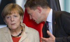 Angela Merkel, Steffenas Seibertas