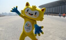 Vinicius, one of the 2016 Rio de Janerio Summer Olympic Games' mascots