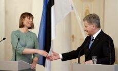 Kersti Kaljulaid ir Sauli Niinisto