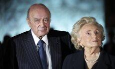 J. Chiracas su žmona Bernadette