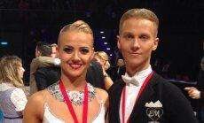 Šokėjai Evaldas Sodeika ir Ieva Žukauskaitė laimėjo čempionato pasaulio bronzą