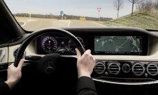 Atnaujinto S klasės Mercedes-Benz autonomiško važiavimo sistema bus dar efektyvesnė