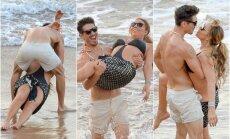 Mariah Carey ir Bryanas Tanaka Havajuose