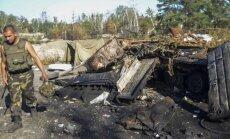 Dar vienas išpuolis Luhanske: separatistų nebestabdo niekas