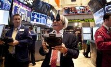Naujieji metai Niujorko akcijų biržoje