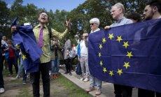 Protestai Londone prieš referendumo rezultatus