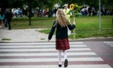 Mergaitė gatvėje