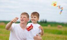 Tėtis su vaiku