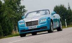 Išbandėme Rolls-Royce Dawn automobilį