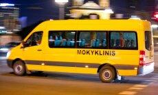 Mokykliniuose autobusuose sumontuoti pirmieji blaivumą tikrinantys įrenginiai