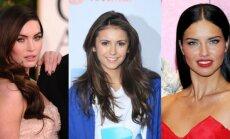 Megan Fox, Nina Dobrev ir Adriana Lima