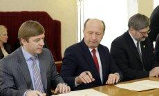 Ramūnas Karbauskis, Andrius Kubilius ir Gintautas Babravičius