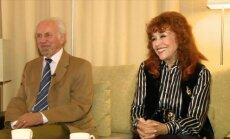 Nelly Paltinienė su vyru