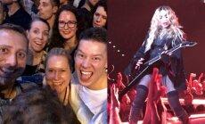 R.Širvinskas-Makalius šėlo popmuzikos karalienės Madonnos koncerte