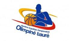 """Moksleivių krepšinio lygos (MKL) """"Olimpinės taurės"""" turnyro logotipas"""