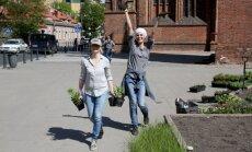 Renata Mikailionytė (dešinėje) ir Asta Grabauskienė džiaugiasi įgyvendinta idėja.