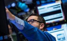 Baigėsi rekordinis augimas JAV akcijų biržose
