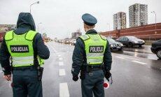 Policininkai budi Vilniaus gatvėse