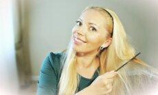 Stilingoji Gražina jums siūlo išmokti paprastą grožio triuką – kaip velti plaukus.