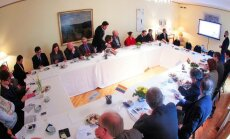 LGL meeting at the Swedish ambassador's residence. Photo by LGL