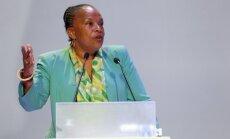 Prancūzijos teisingumo ministrė Ch. Taubira