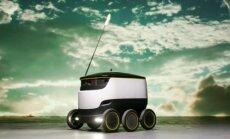 Starship maistą pristatantis robotas