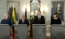 Dalia Grybauskaitė, Joachimas Gauckas, Raimondas Vėjuonis ir Kersti Kaljulaid