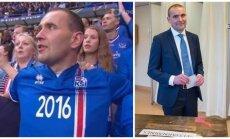 Naujai išrinktas Islandijos prezidentas Gudnis Johannessonas (Twitter, AP-Scanpix nuotr.)