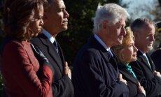 Michelle Obama, Barackas Obama, Billas Clintonas, Hillary Clinton