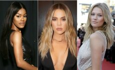 Teyana Taylor, Khloe Kardashian, Toni Garrn.