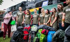 Members of the Mission Siberia 16 expedition team