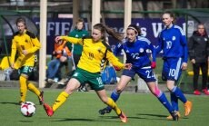 Susitinka Lietuvos ir Andoros moterų futbolo rinktinės