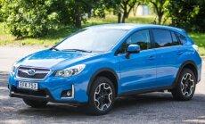 Atnaujintas Subaru XV