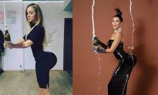 Monika Šalčiūtė, Kim Kardashian