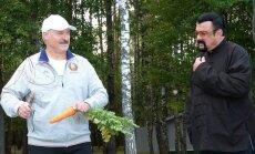 Aleksandras Lukašenka ir Stevenas Seagalas