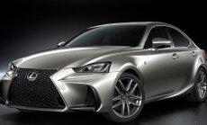 Modernizuotas Lexus IS