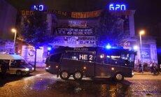 Protestuotojų susirėmimai su policija prieš G20 susitikimą Hamburge