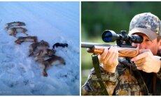Medžiotojas pagrasino žmonėms
