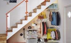 10 patarimų, kaip ankštame prieškambaryje sutalpinti viską, ko reikia šeimai