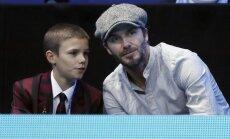 Davidas Beckhamas su sūnumi Romeo