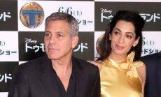 Amal Clooney ir George Clooney
