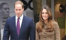 Kate Middleton ir princas Williamas