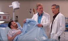 George'as Clooney ir Hughas Laurie