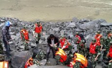 Kinijoje po nuošliauža gali būti palaidota apie 100 žmonių