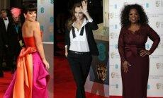Lily Allen, Julia Roberts, Oprah Winfrey